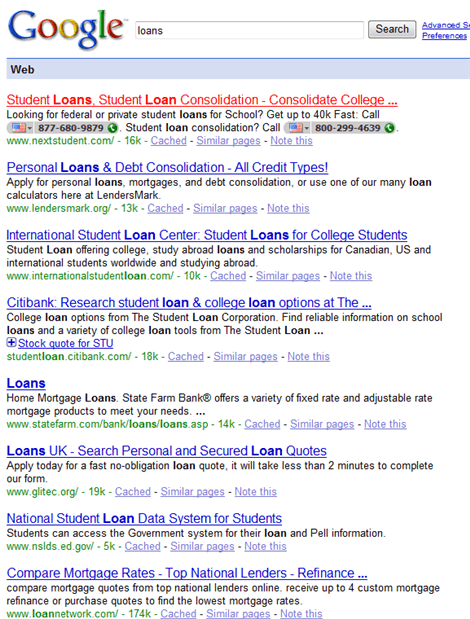 NextStudent Skype Google Results