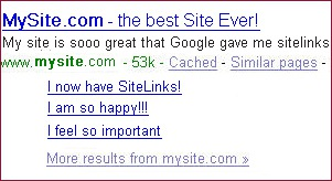 6 Educated Theories Behind Google SiteLinks