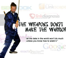 Tools and the Art of SEO