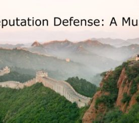 Reputation Matters: The Best Offense Is A Good Defense