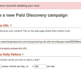 Using Tracking URLs With StumbleUpon Ads