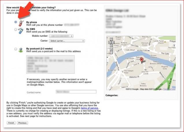 verify listing
