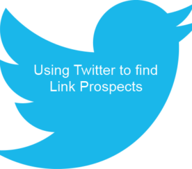 Using Twitter to Find Link Prospects