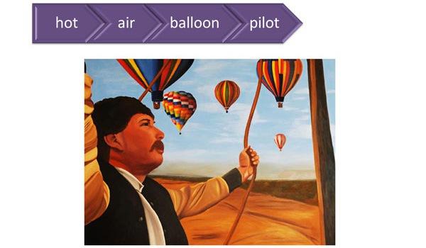 "Adding The Word ""Pilot"" Onto ""Hot Air Balloon"""