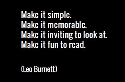 leo burnett quote
