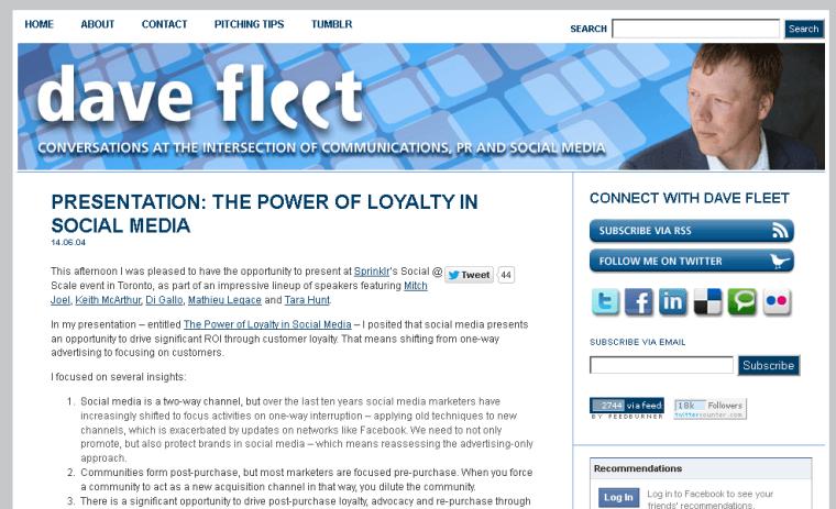 2014-08-09 09_23_14-Presentation_ The Power of Loyalty in Social Media _ davefleet.com