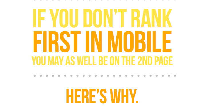 Largest CTR Study Ever Finds Mobile Rankings Are 3 Times More Valuable