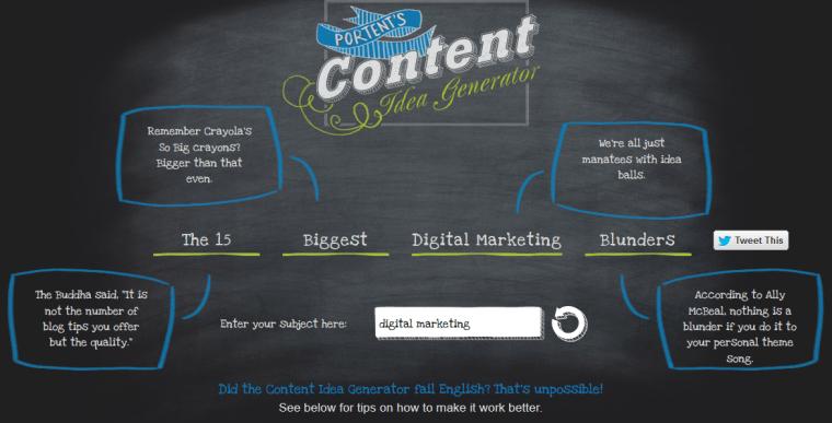 Portent - Content Ideas