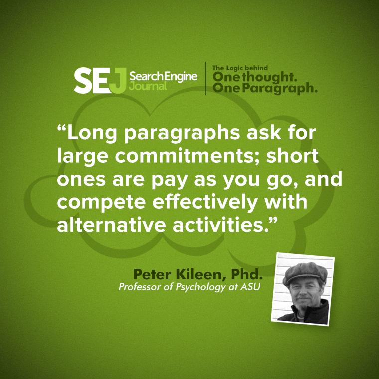 Peter Killeen, Professor of Psychology at ASU quote