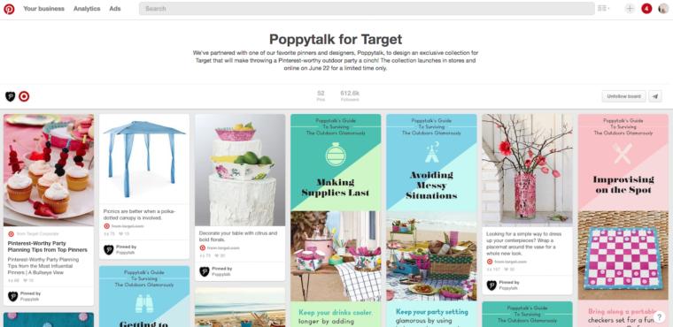 poppytalk for target on pinterest