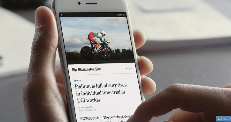 6 Benefits of Facebook Instant Articles