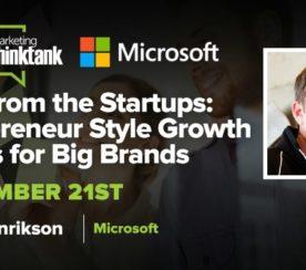 #SEJThinkTank Recap: Startup Strategies for Grown Ups