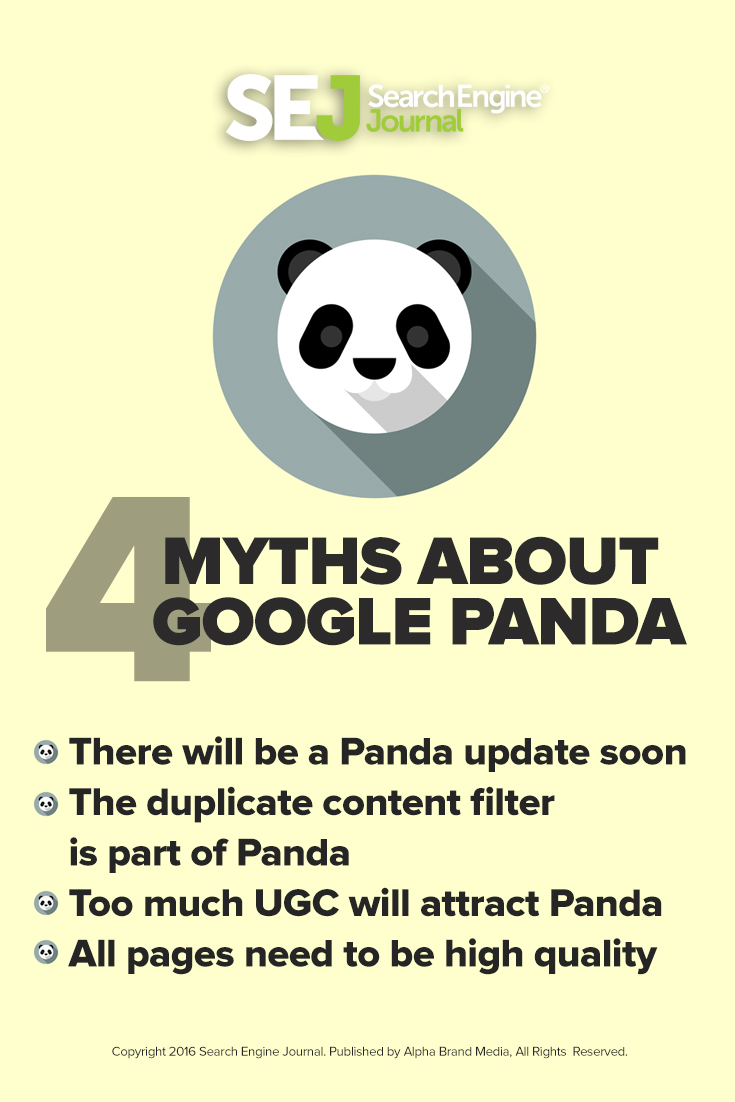 4 Myths About Google Panda