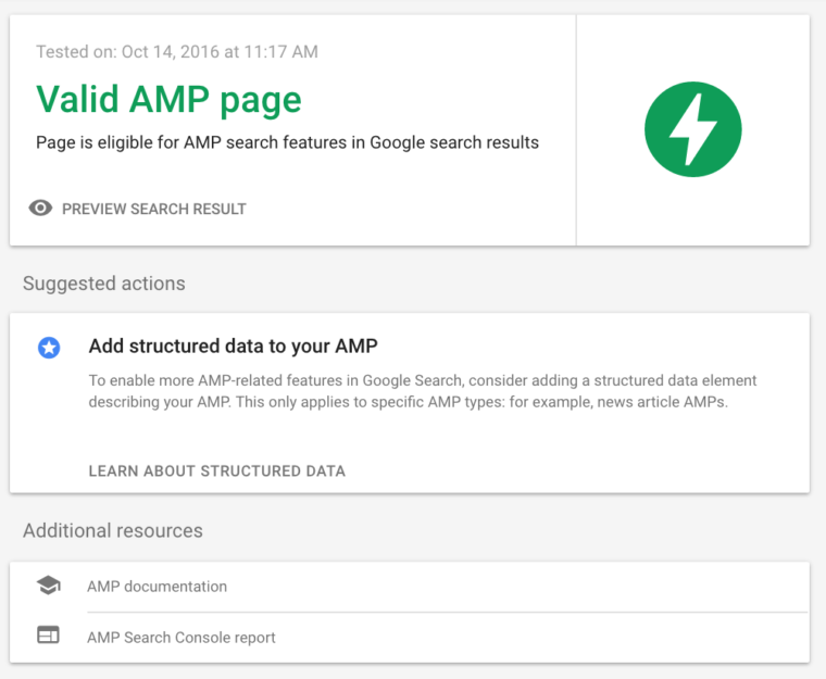 amp testing tool good