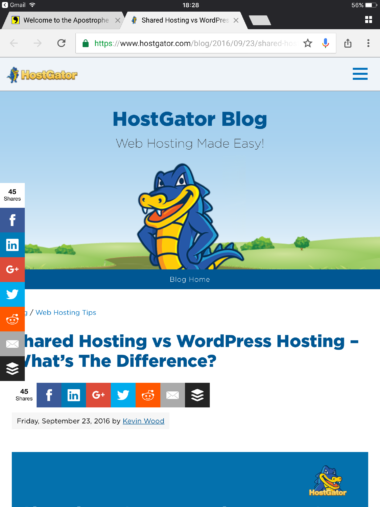 Responsive Non-AMP Version of Blog Article