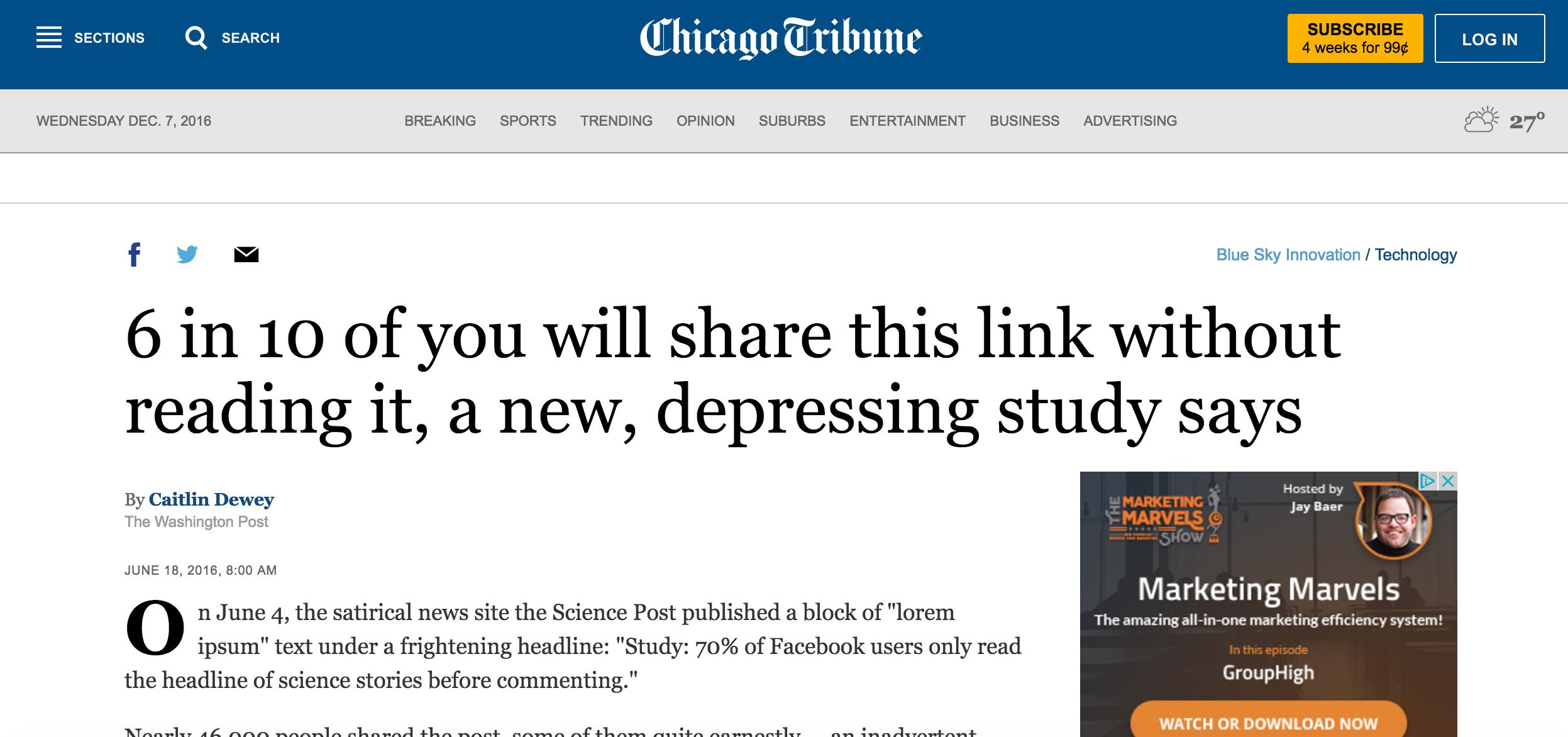 chicagotribune article