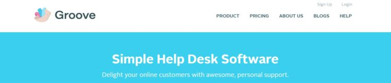 Groove HQ helpdesk software