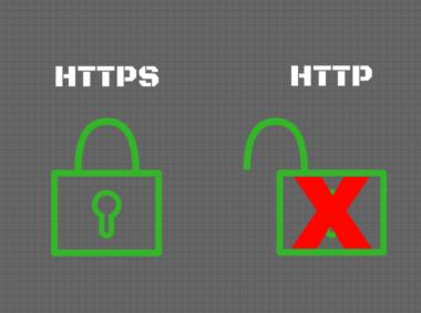 HTTPS versus HTTP connections