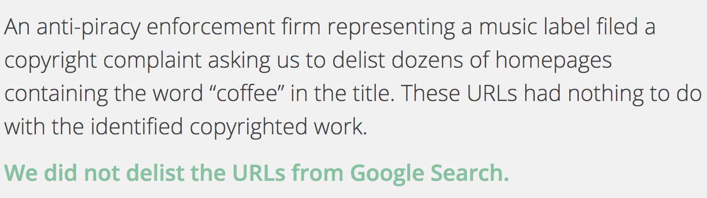 Google Asked to Remove Over a Million Websites for Copyright Infringement