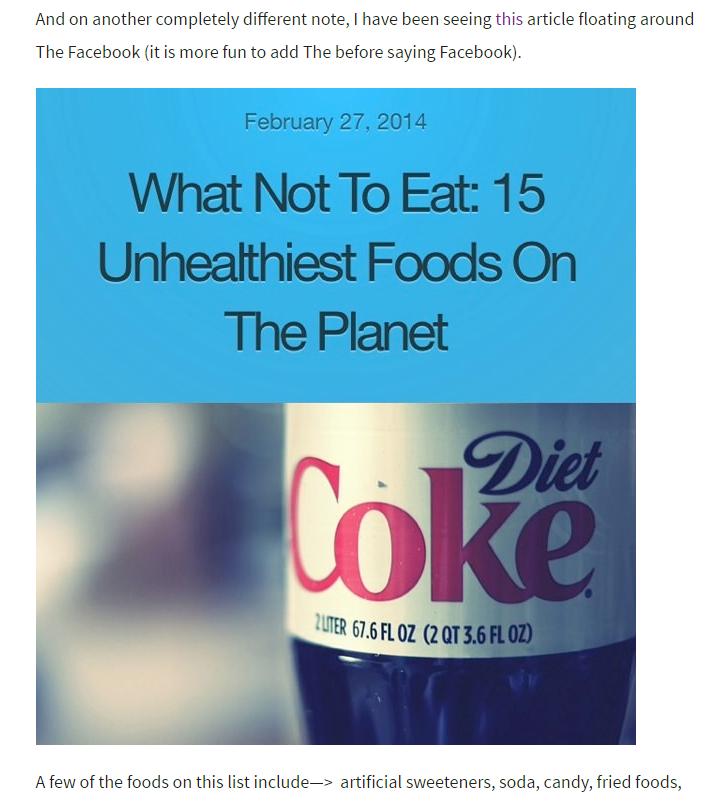 Unhealthiest Foods