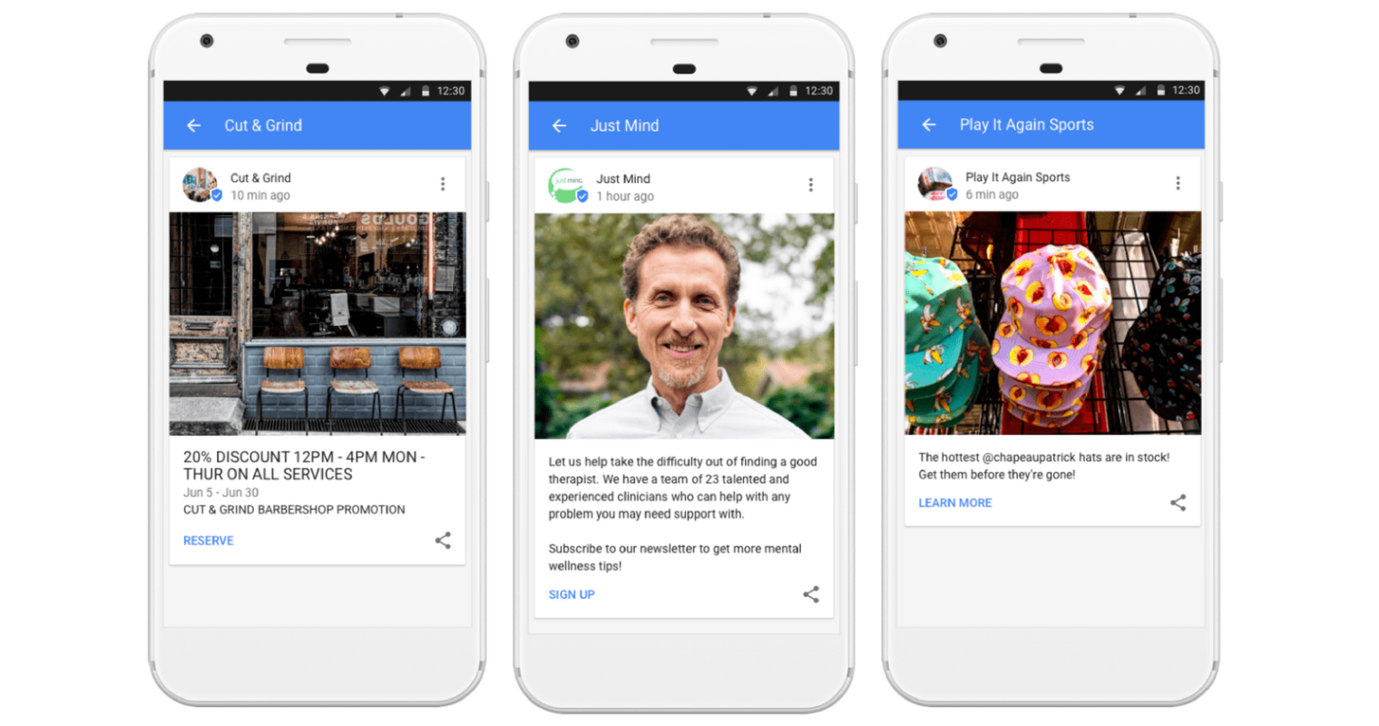 Google Posts: Share Messages in Search Results From Google My Business