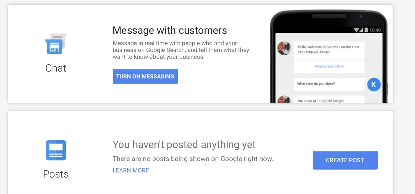 Google My Business Messaging Coming to All US-based Businesses