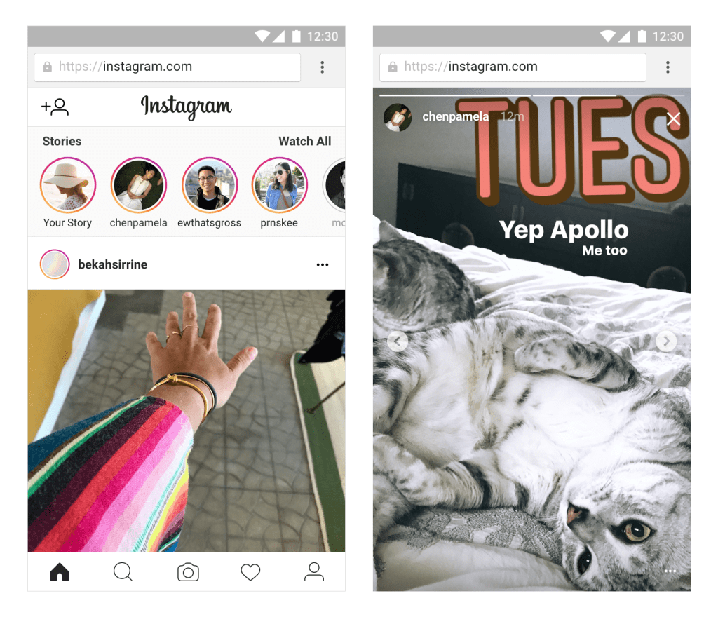 Instagram Stories Are Coming to Mobile Web Browsers