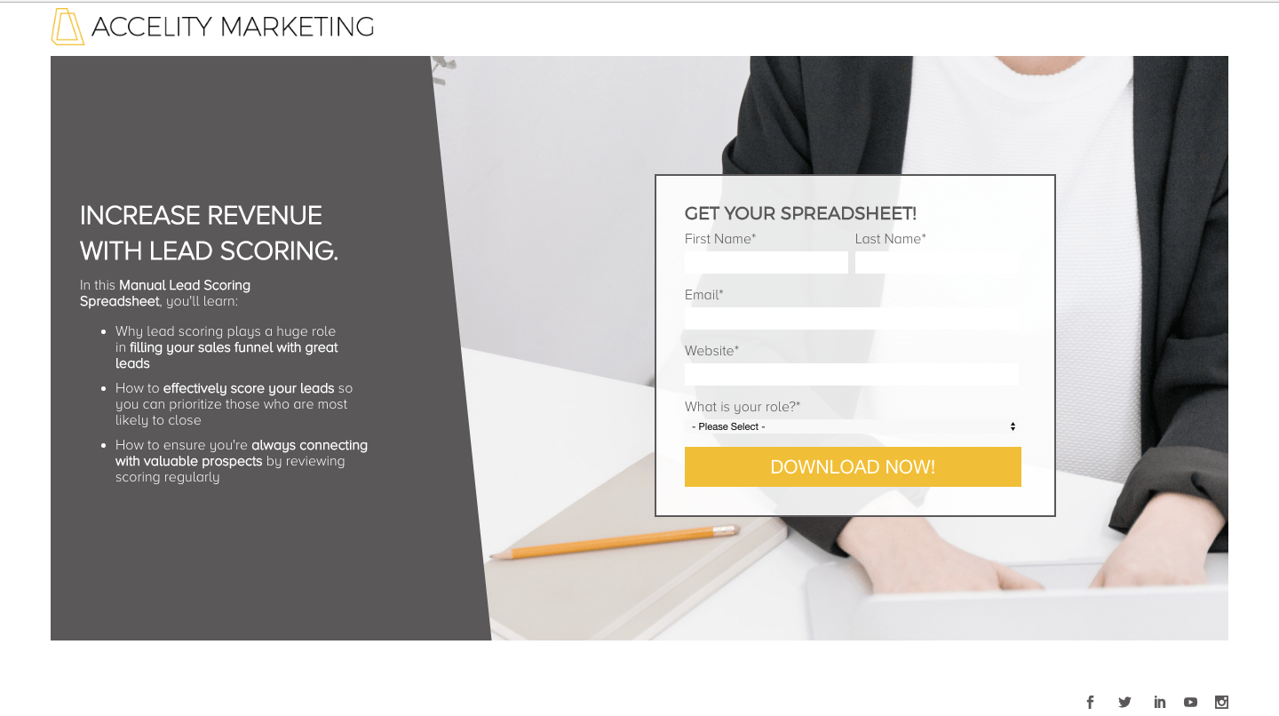 gated content form