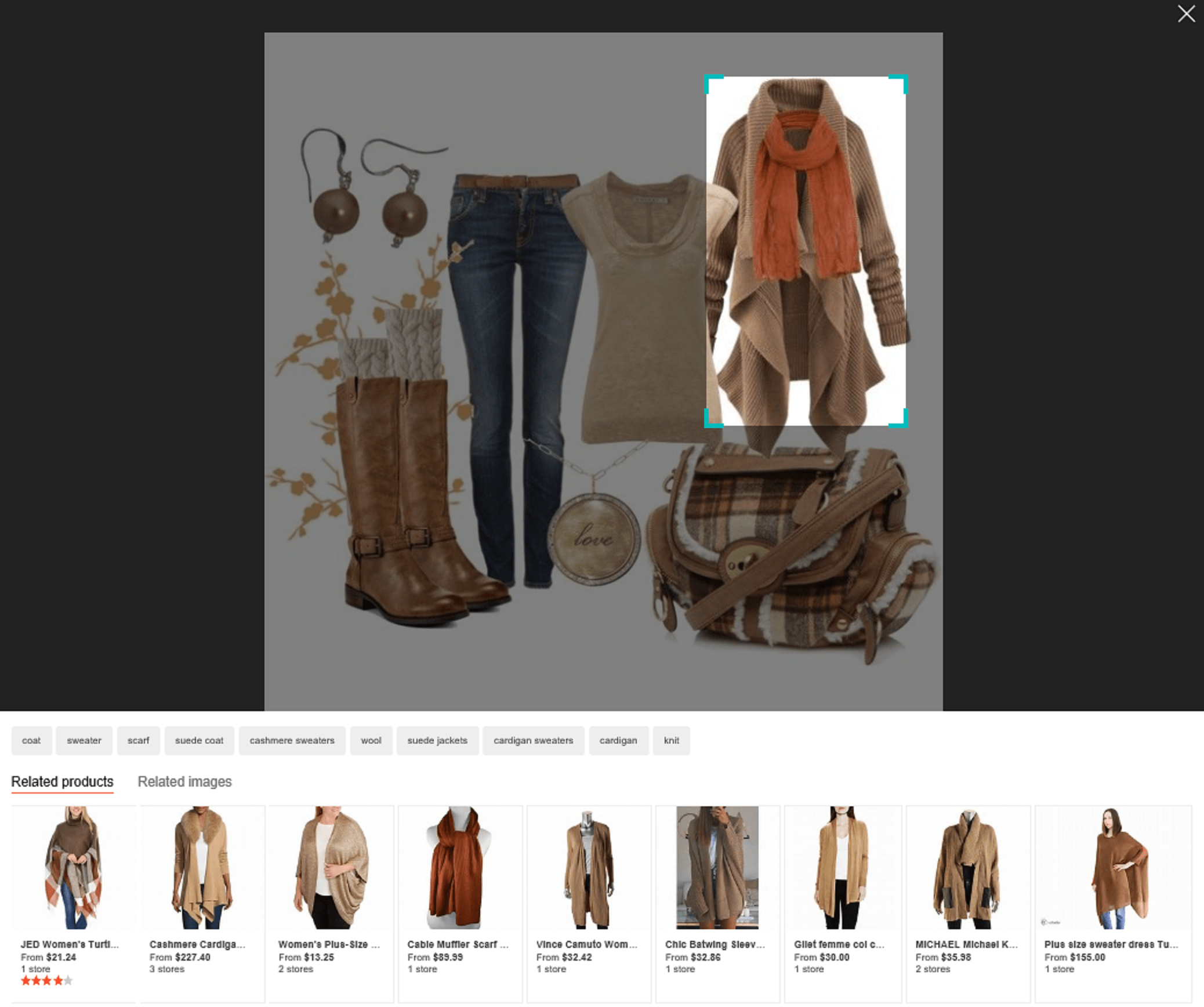 Bing Upgrades Visual Search With Object Detection Technology