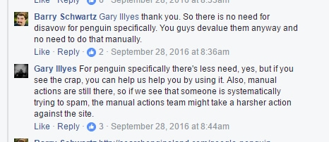Garry Illyes On The Use Of The Disavow File
