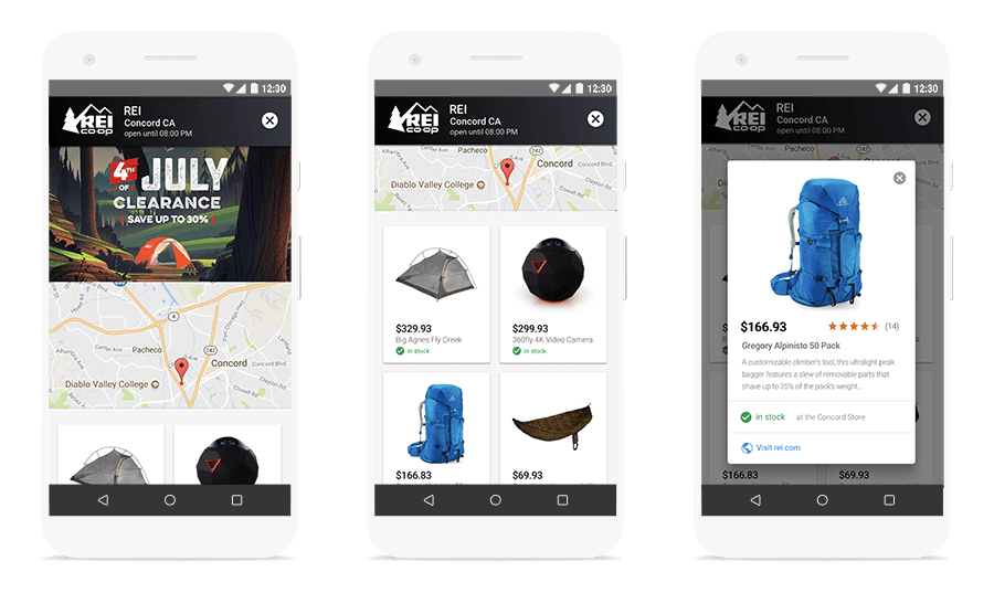 Google AdWords Introduces Ad Unit for In-Store Products