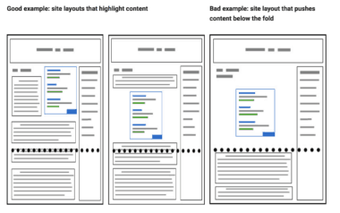 google-algorithm-above-the-fold