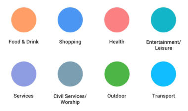Google Maps Improves Location Discovery by Color Coding Points of Interest