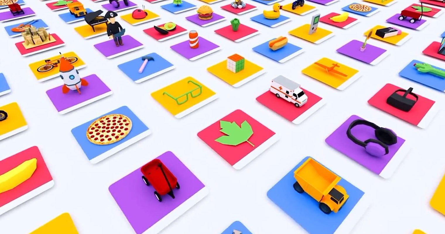 Google Created a Search Engine for Finding 3D Objects to Use in Apps