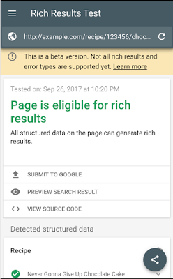 Google Introduces Rich Results Tool for Testing Structured Data