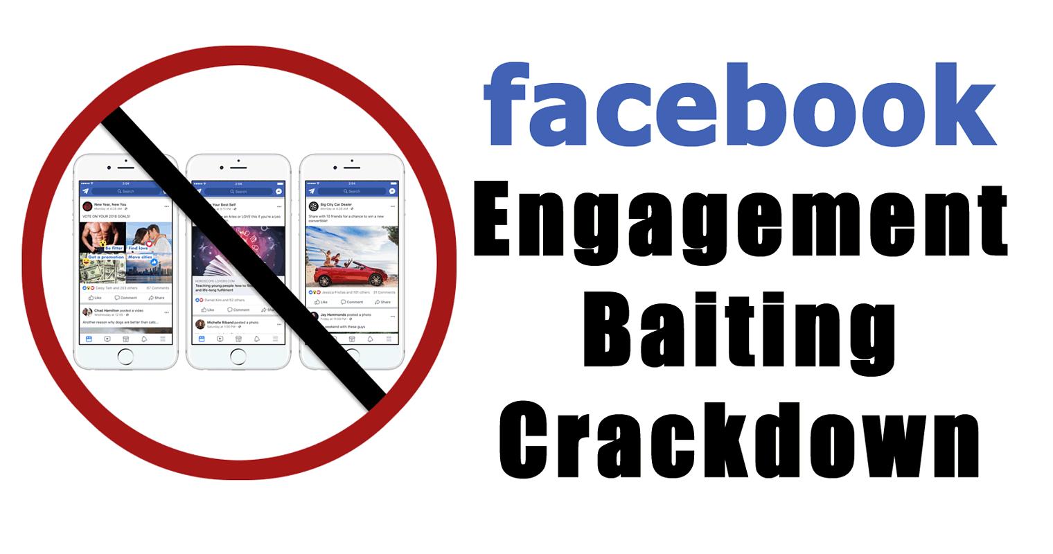 Facebook Demoting Engagement Bait