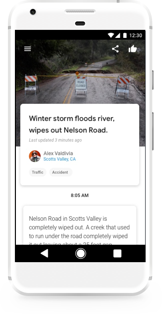 Post Hyperlocal News Stories to Google With New 'Bulletin' App