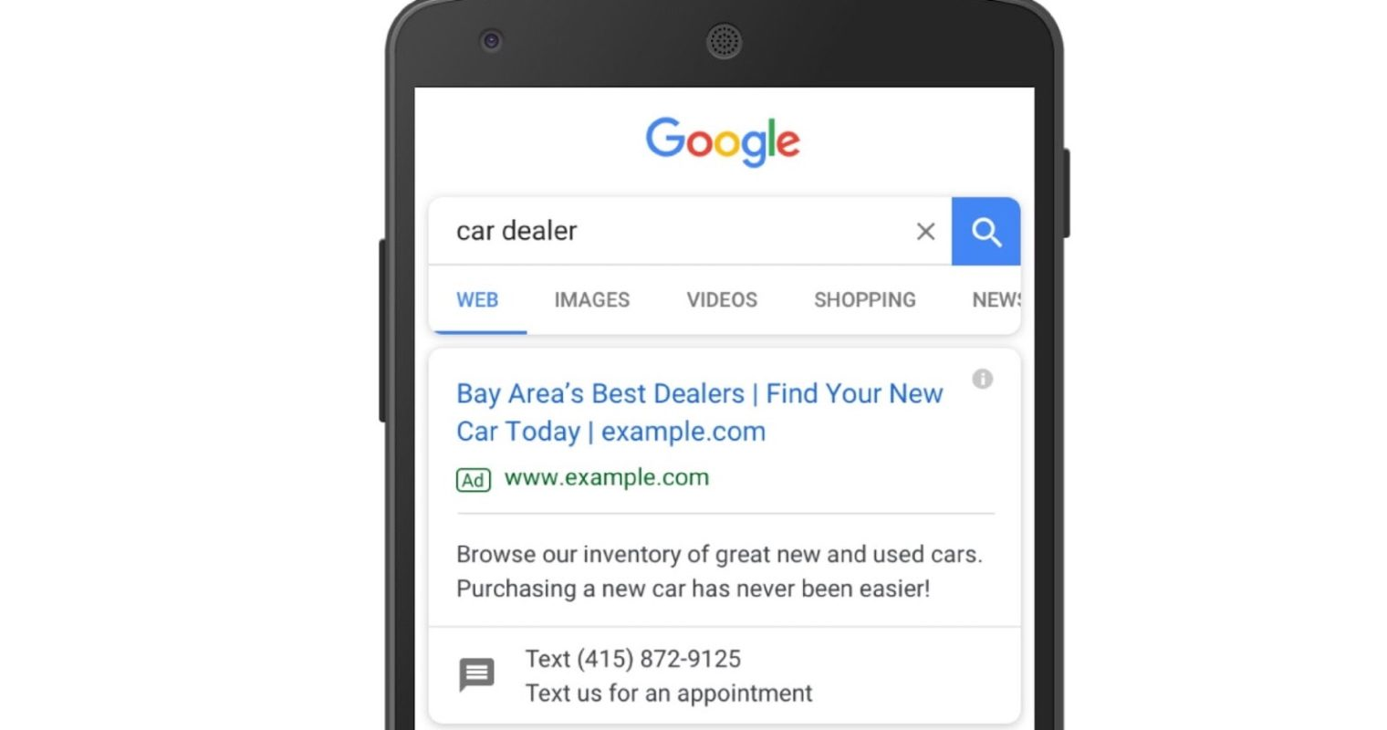 Google AdWords Has New Performance Insights for Click-to-Message Ads