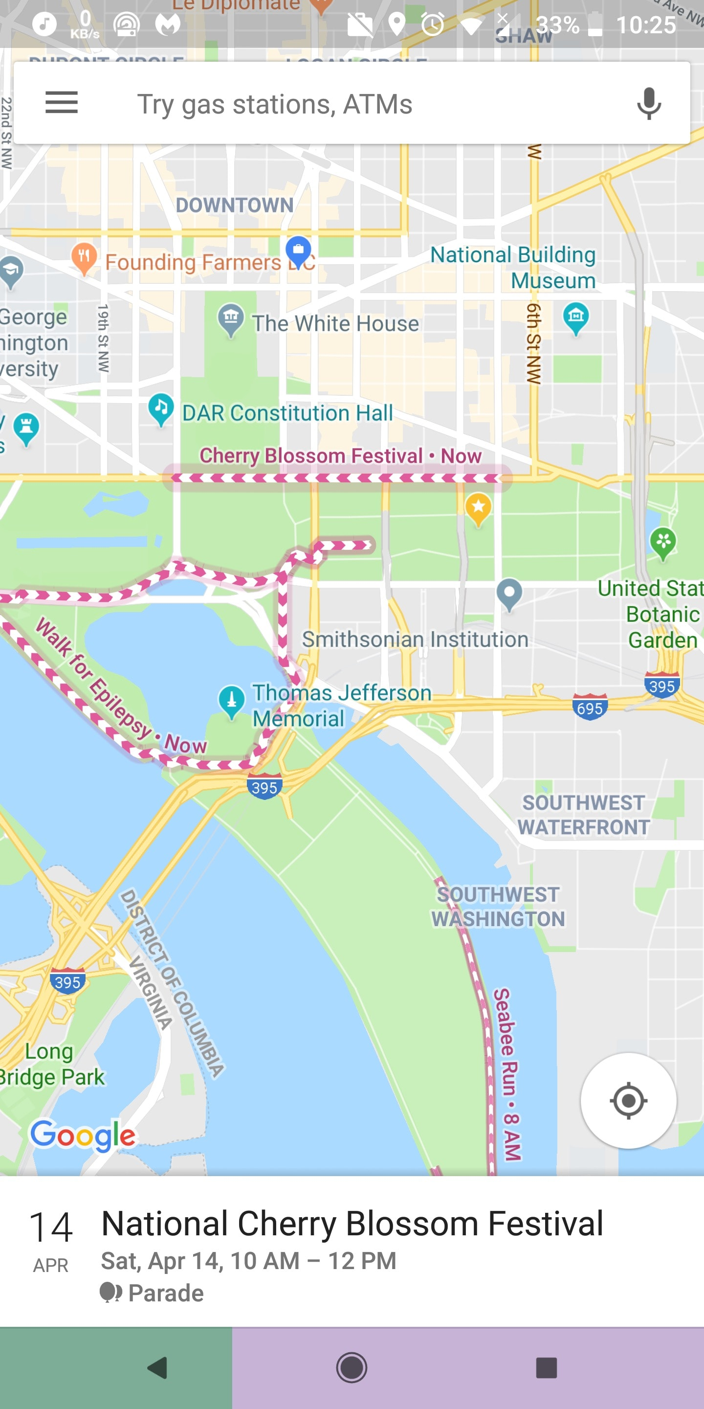 Google Maps Highlights Public Events Currently In Progress