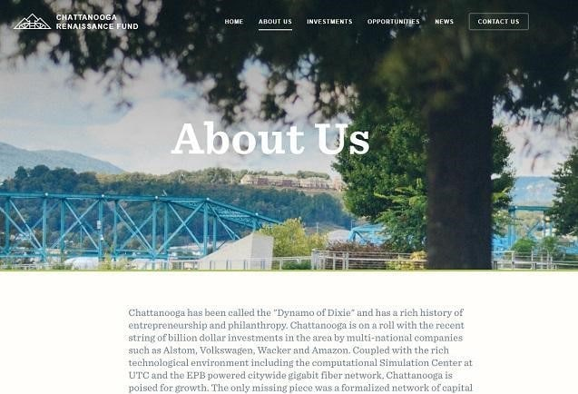 Chattanooga Renaissance Fund About Us page