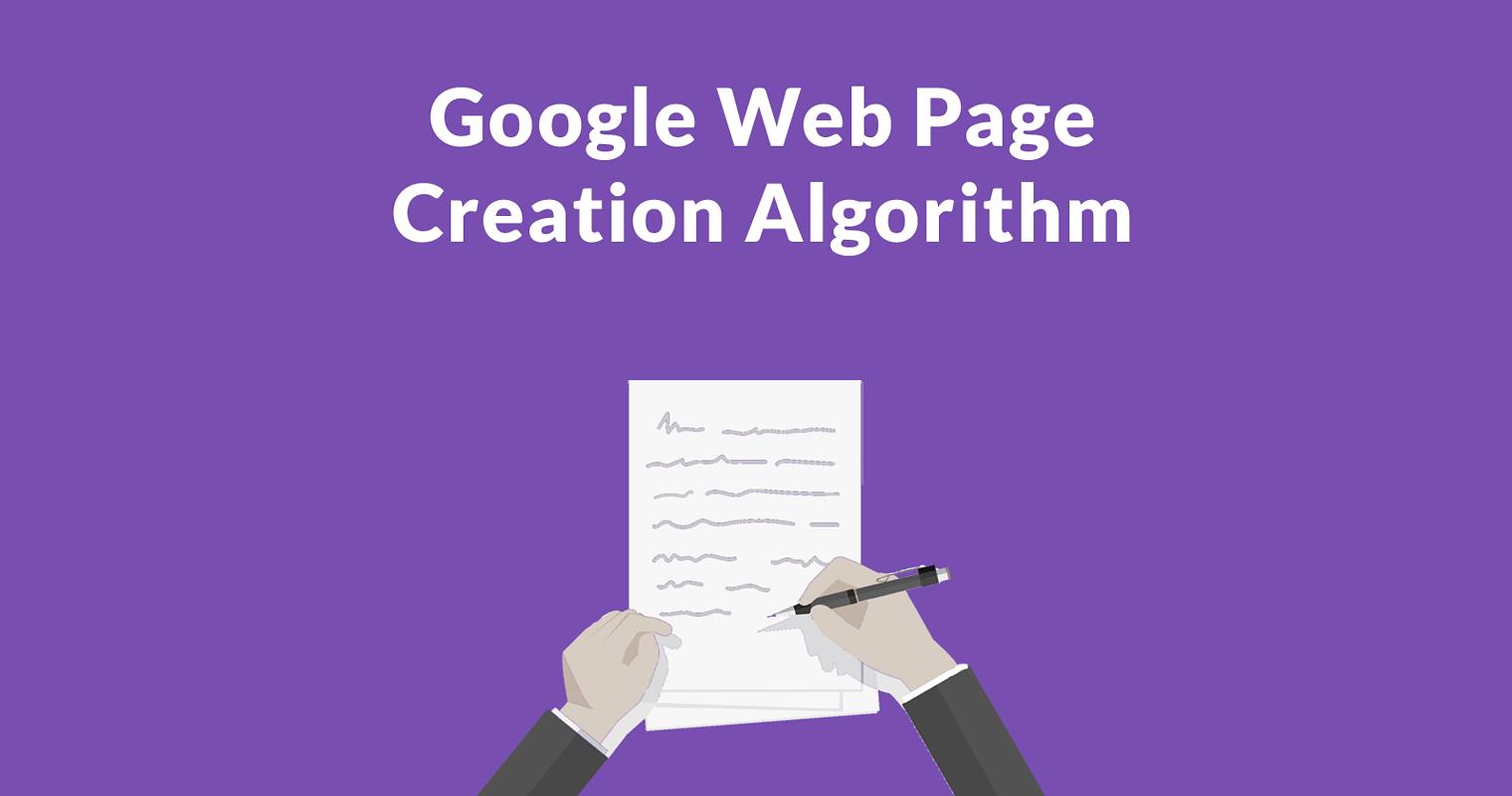 Google's New Algorithm Creates Original Articles From Your Content