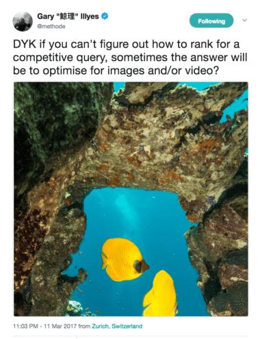 Gary Illyes tweet optimize images