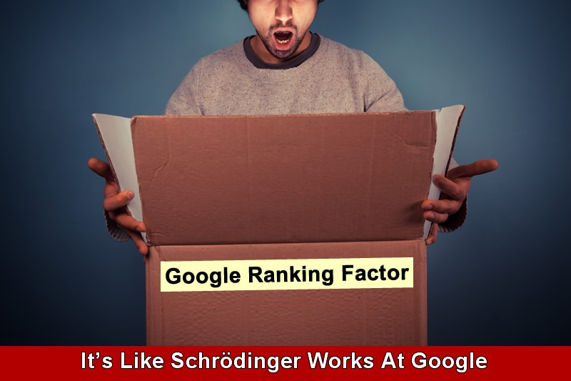 Some ranking factors trigger others.