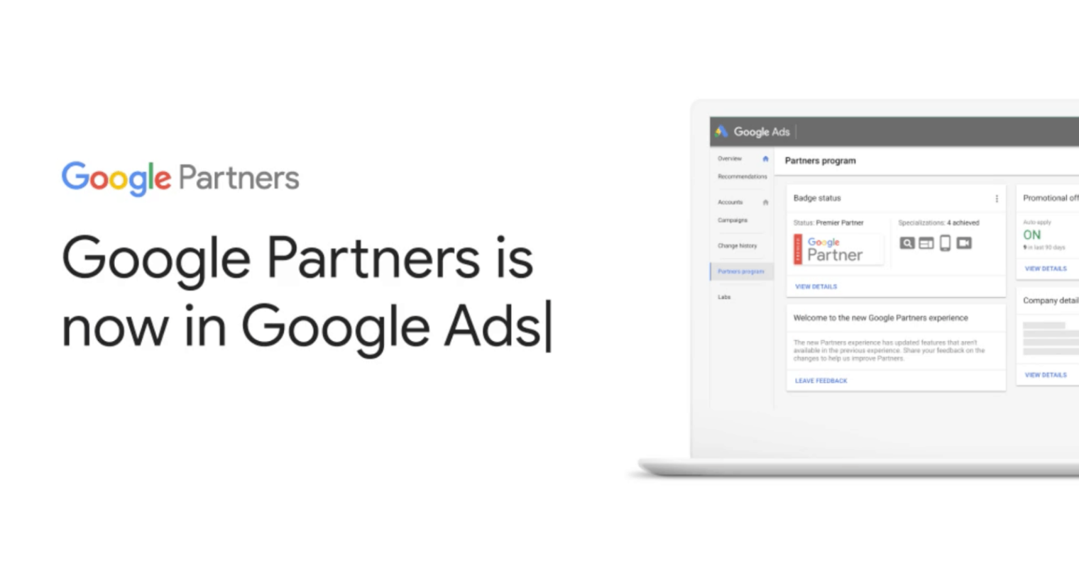 Google Partners Features Have Been Moved to Google Ads