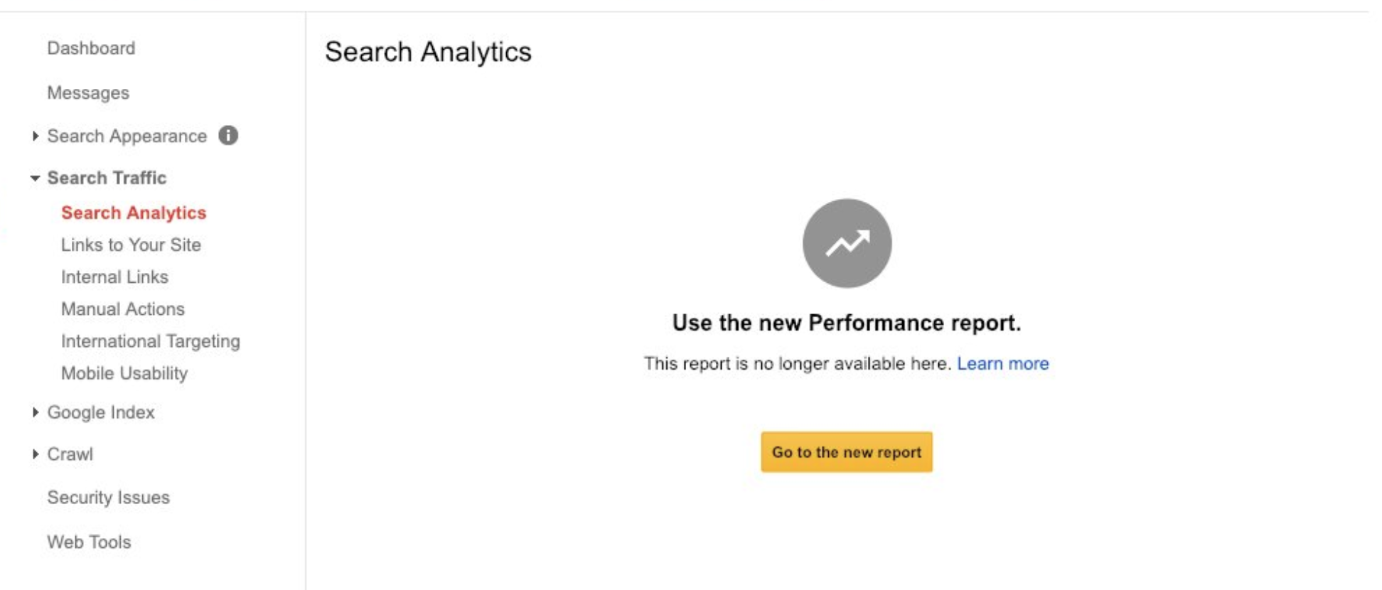 Google Fully Moves Multiple Reports Over to the New Search Console