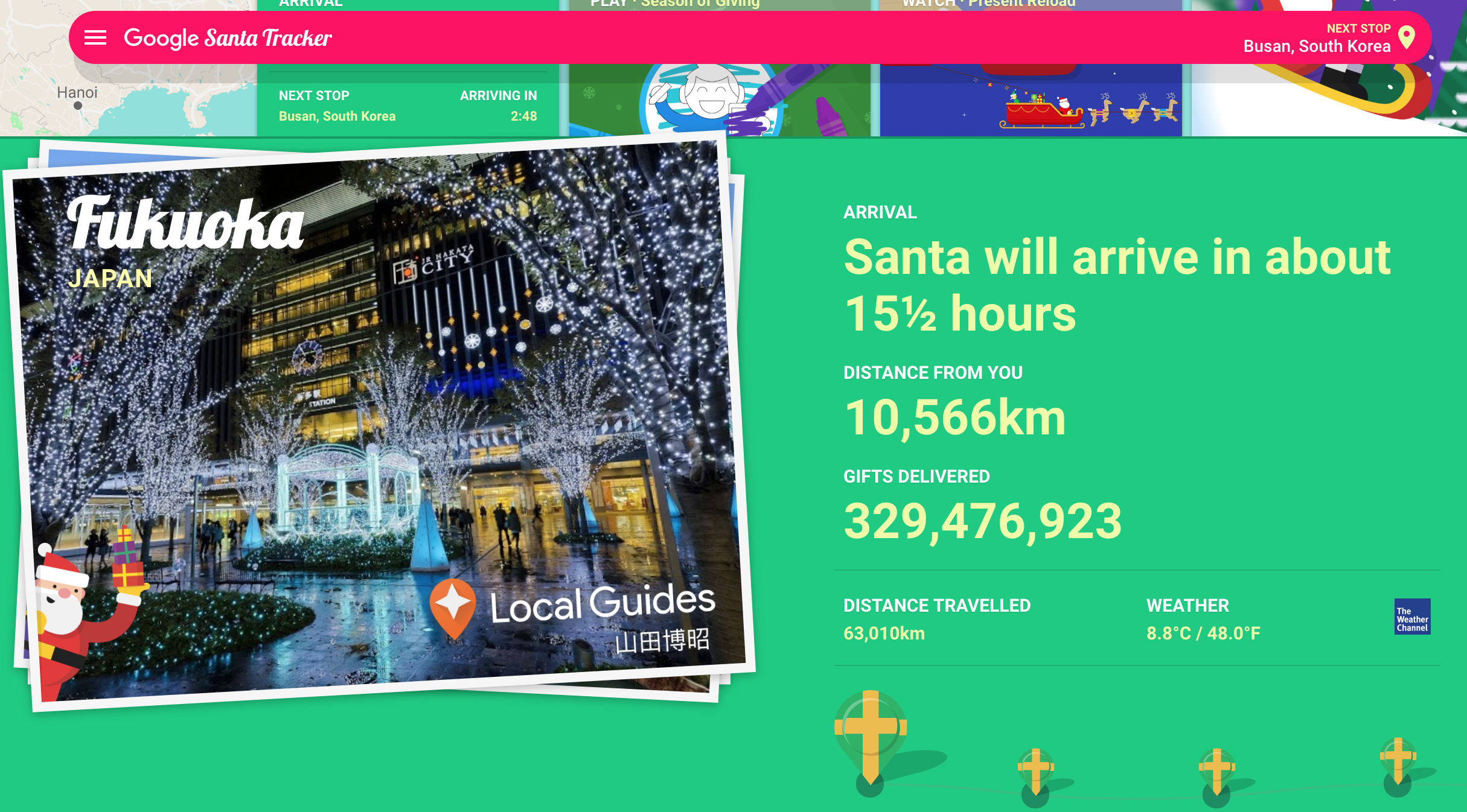 Track Santa With NORAD and Google's Santa Tracker Apps for Christmas Eve 2018