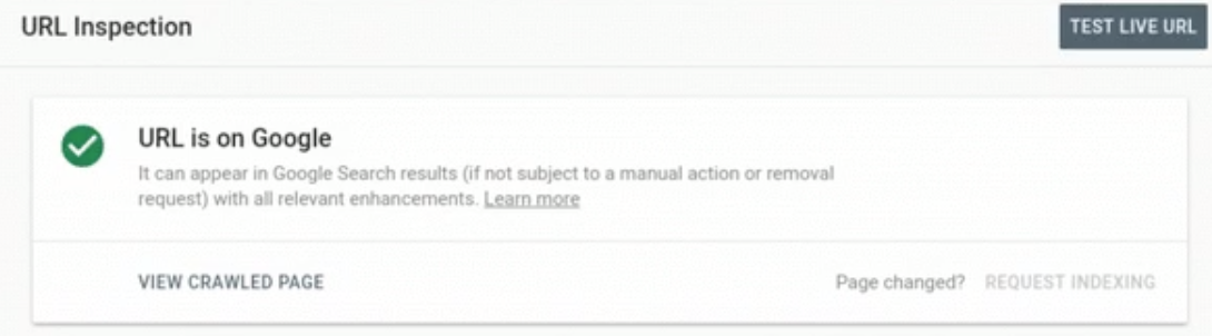 Google Search Console Makes 'Inspect URL' Tool More Useful