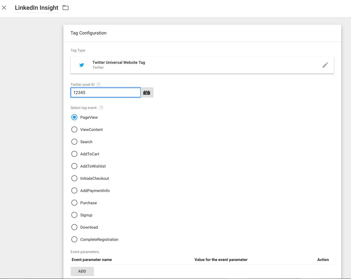 LinkedIn Insight Google Tag Manager