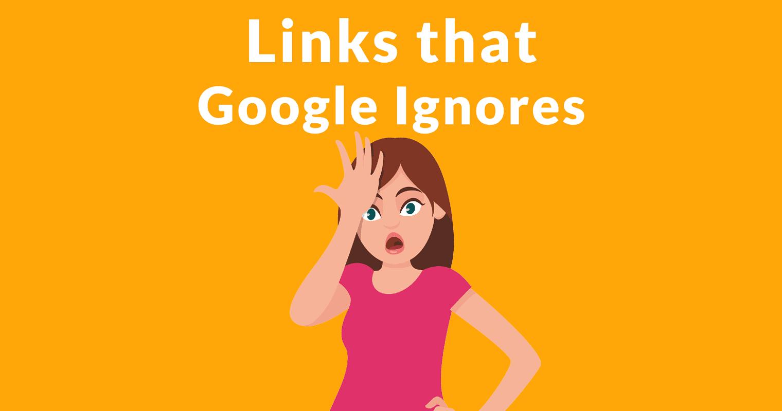 John Mueller Discusses Links that Google Ignores
