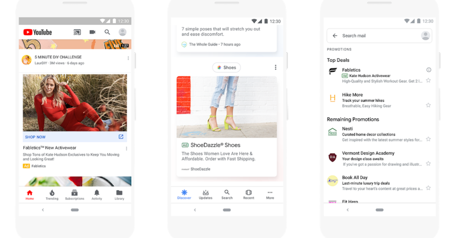 Google Confirms it Will Show Ads on its Mobile Home Page